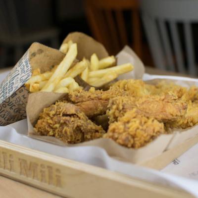 jak sloužit obalované kuře