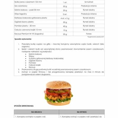 sendvičový recept s křupavým kuřecím masem