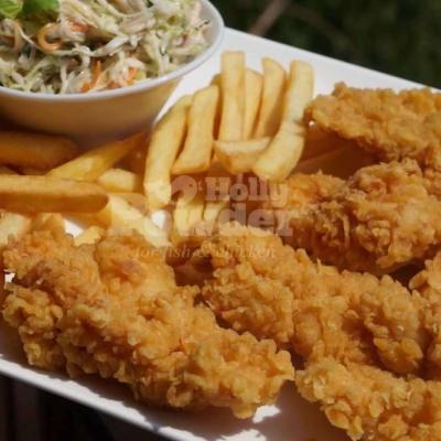 pikantní chicken strips